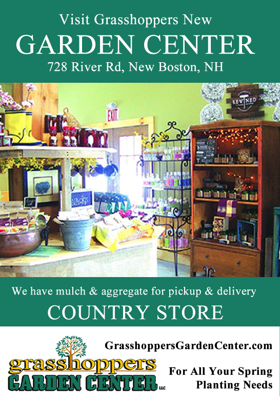 Grasshoppers Garden Center has plants for New Boston, NH