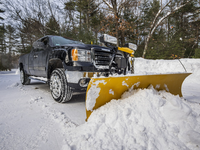 Grasshoppers Landscaping offers snow removal services